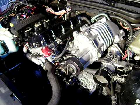 Bmw E36 318i Supercharger