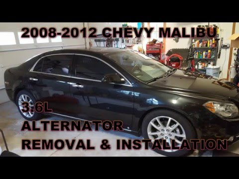 Chevy Malibu Alternator Replacement 2008 - 2012