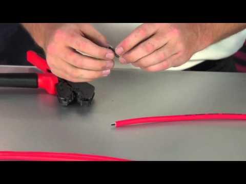 Crimping Msd Spark Plug Wires Spark Plug Wire Crimping