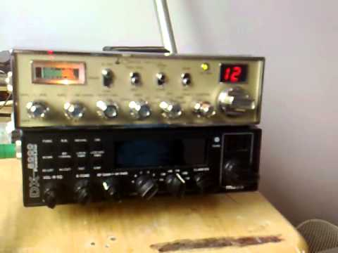 CB Radio: Listening to 555 on Cobra 148 GTL DX MK2