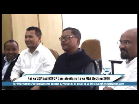 RAI KA UDP BAD HSPDP BAN IATREILANG HA KA MLA Election 2018