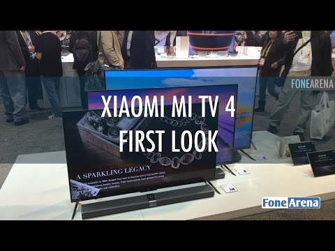 Xiaomi Mi TV 4 first look