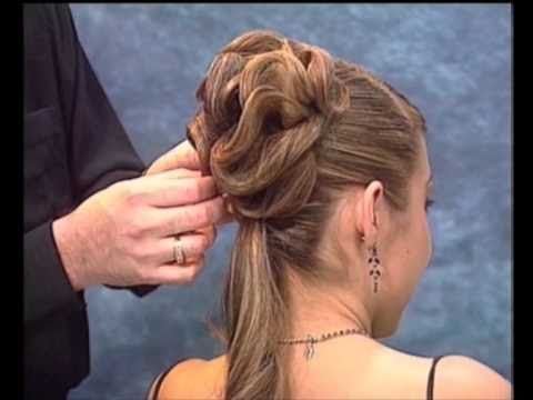 Penteado Coque - Rede Invisivel