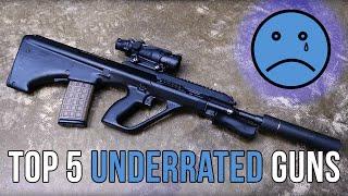 Top 5 Underrated Guns   TFBTV
