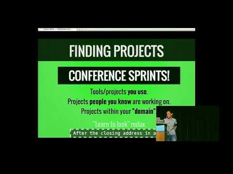 Elena Williams: Hitchhikers Guide to Participating in Open Source - PyCon 2014