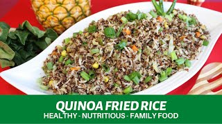 QUINOA FRIED RICE - Healthy & Nutritious food for your family - Superfood Quinoa
