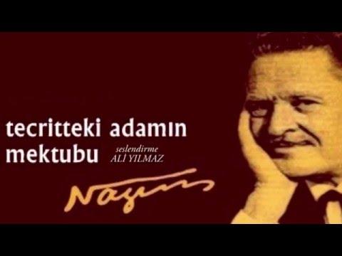 """Şiir """"Tecritteki Adamın Mektubu"""" Nazım HİKMET"""