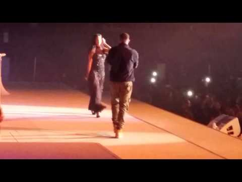 Anti World Tour- The Forum - Los Angeles Drake and Rihanna Work Live