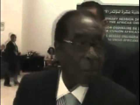 Robert Mugabe's Rant with a Journalist (African Union Summit)