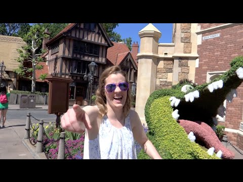 Walt Disney World Vacation April 2015: Day 5 - Epcot (Episode 156)