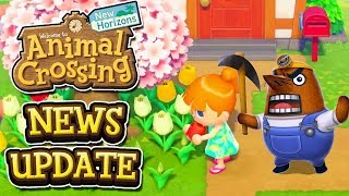 Animal Crossing New Horizons NEWS UPDATE - MR RESETTI TIME-TRAVEL & CLOUD SAVES?!