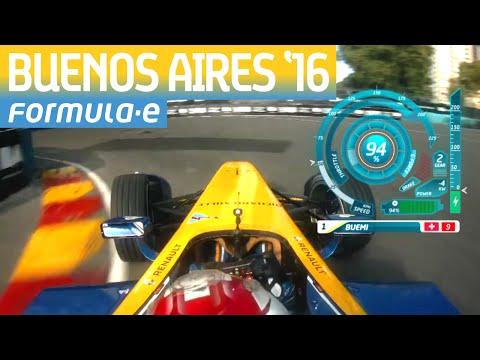 Onboard Lap: Buenos Aires Street Circuit w/ Sebastien Buemi - Formula E