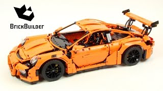 Lego Technic 42056 Porsche 911 GT3 RS - Lego Speed build
