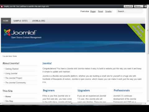 Learn Joomla: How to install a template in joomla 2.5