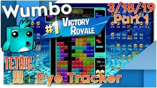 Tetris 99 - Flawless Stream 13 Win Streak - Wumbo 1020+ Wins
