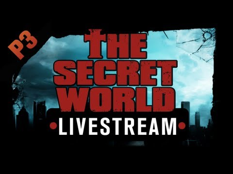 The Secret World Livestream - Part 3 - Health and Safety Concerns