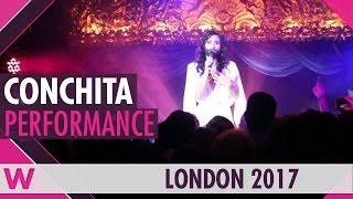 "Conchita Wurst ""Satellite"" (Germany Eurovision 2010) LIVE @ London Eurovision Party 2017"
