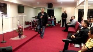 Ministerios Nissi - Profeta Elvin Perez - Predicacion: Guerra Espiritual (1/2) (06-14-14).