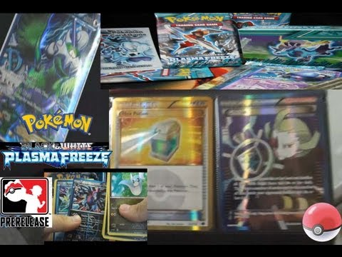 Pokemon Plasma Freeze PreRelease Pack Opening -FA EX & Shiny footage!