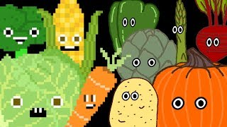 Vegetables Collection - Vegetable Song, Find the Veggies - The Kids' Picture Show (Learning Video)