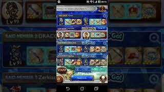 [FFRK] FF6 Multiplayer battle vs Goddess (HARD)