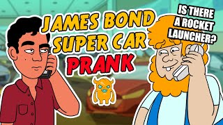 James Bond Supercar Prank (animated heads) - Ownage Pranks