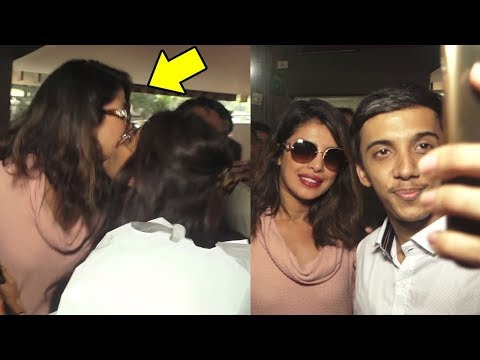 Fan KISSES Priyanka Chopra in Public