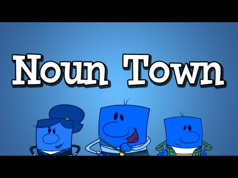 """Noun Song from Grammaropolis - """"Noun Town"""""""