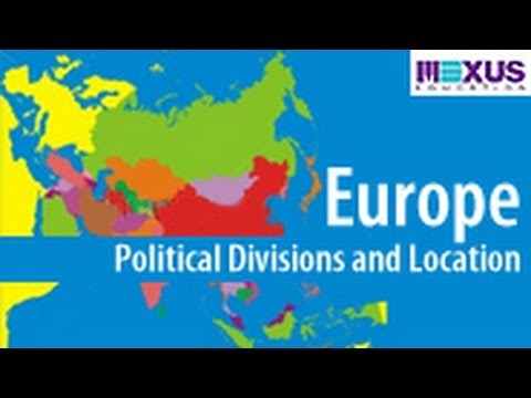 Europe: Political Divisions and Location