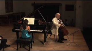 Lynn Harrell - Yuja Wang - Rachmaninoff, G Minor, 4th Movt.