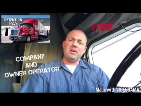 Crete Carrier Owner Operator -The Truckers Coach joins The Crete Carrier Team