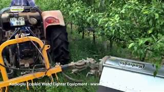 ✔️ ECOSKID WEED FIGHTER - Best Interrow Weed Cutter For ORCHARDS and VINEYARDS