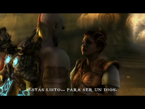Kratos Vs Tanatos Final Espectacular ESPAÑOL.wmv
