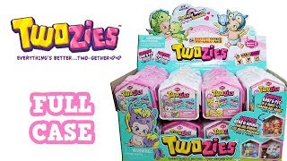 Twozies Season 3 Fantasy Teams Full Case Unboxing Blind Bags Shadow Box House Opening Entire Case