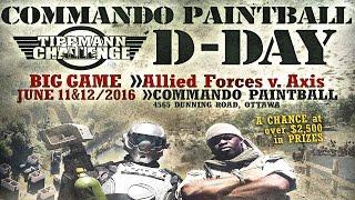 D DAY COMMANDO PAINTBALL IN OTTAWA TRAILER!