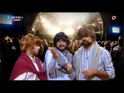 gangue De Betos No Concerto Do Anselmo Ralph - Pedro Fernandes - 5 Para A Meia Noite video