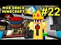 Minecraft Mod Sauce Ep. 22 - Getting Head !!! ( HermitCraft Modded Minecraft )