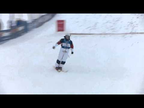 Hannah Kearney Wins - Calgary Freestyle Ski Moguls World Cup