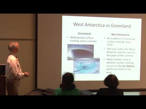 Climate Change in West Antarctica: Are we heading for a dramatic rise in sea level?