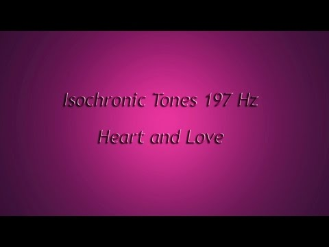 1 Hour - Heart, Love of others, Warmth, Hara (Isochronic Tones 197 Hz) Pure Series