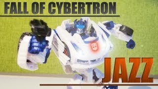 Fall of Cybertron Jazz - Stop motion