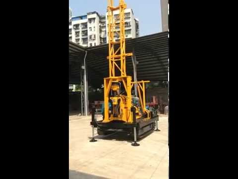 Core drilling rig for drill mast testing