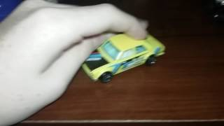 Taxi driver hot wheel car