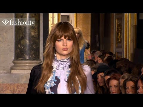 Emilio Pucci Fall/Winter 2013-14 FIRST LOOK | Milan Fashion Week MFW | FashionTV