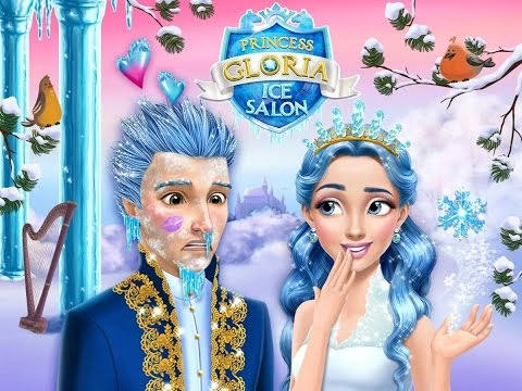 Princess Gloria Ice Salon - Educational Education - Videos Games for Kids - Girls - Baby Android