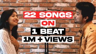 download lagu 22 Songs On 1 Beat  Mi Gente Mashup gratis
