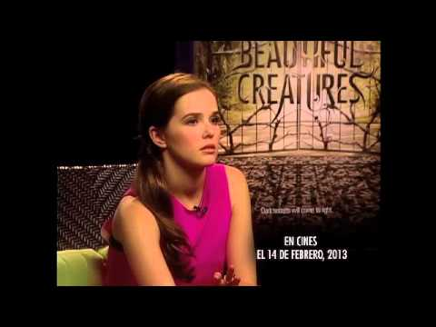 BEAUTIFUL CREATURES: Entrevista con Zoey Deutch