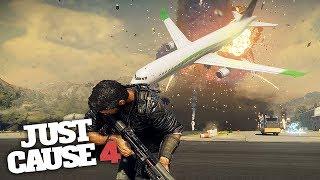 TORNADO AIRPORT CHAOS & DESTRUCTION! - Just Cause 4 Gameplay!