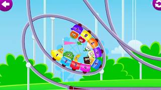 Funny Food 3 (Ordinal Numbers) - Education Games For Kids