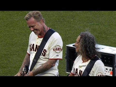 LAD@SF: Metallica performs